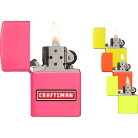Neon Color Windproof Zippo Lighters