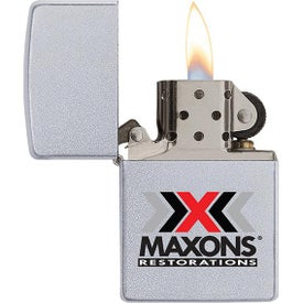 Satin Chrome Zippo Windproof Lighters