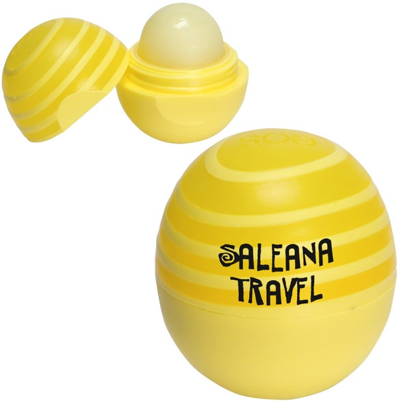 Yellow (Lemon Twist SPF) EOS Swirl Lip Balm