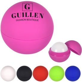 Rubberized Lip Moisturizer Balls