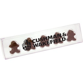 Acetate Sticks with Gingerbread Men