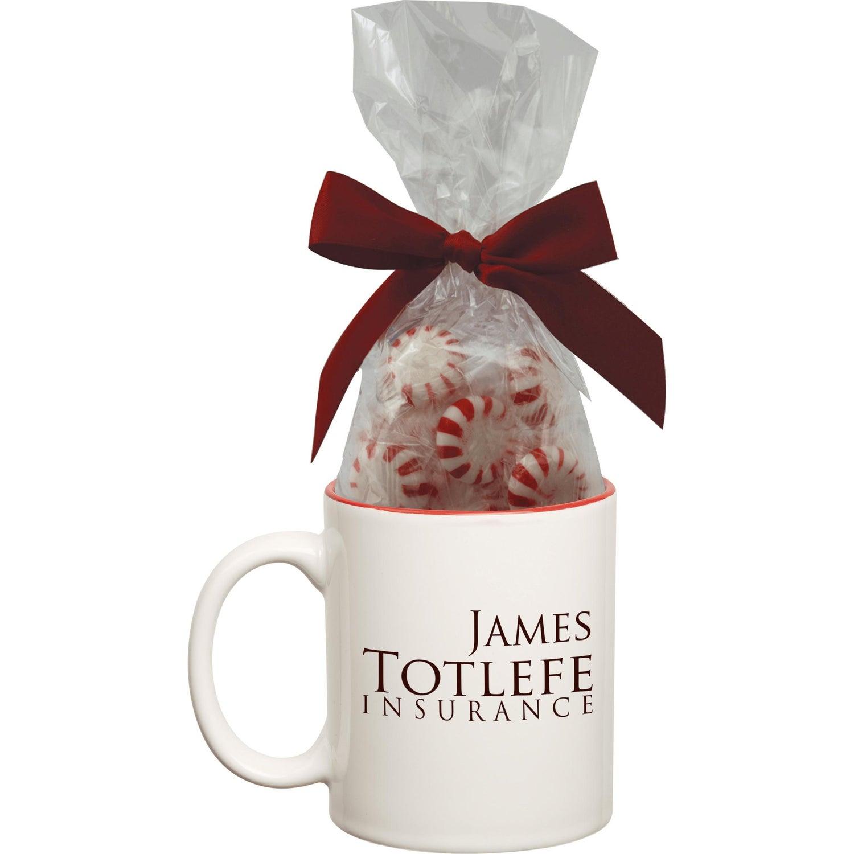 Ceramic Mug with Candy (Two Tone)