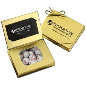 Connection Credit Card Gift Box (Chocolate Baseballs)