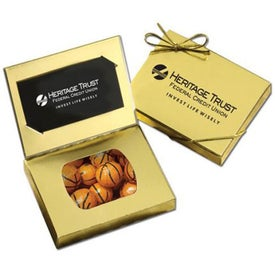 Connection Credit Card Gift Box (Chocolate Basketballs)