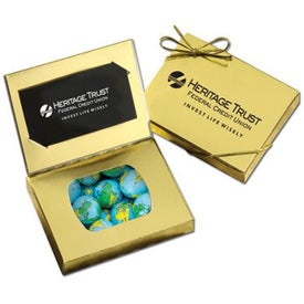 Connection Credit Card Gift Box (Chocolate Globes Earth Balls)