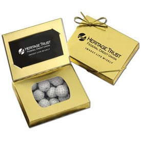 Connection Credit Card Gift Box (Chocolate Golf Balls)