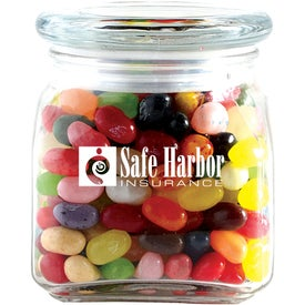 Jelly Bellys in Small Glass Jar