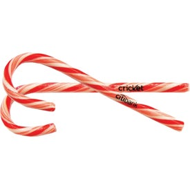 Large Candy Cane with Clear Label