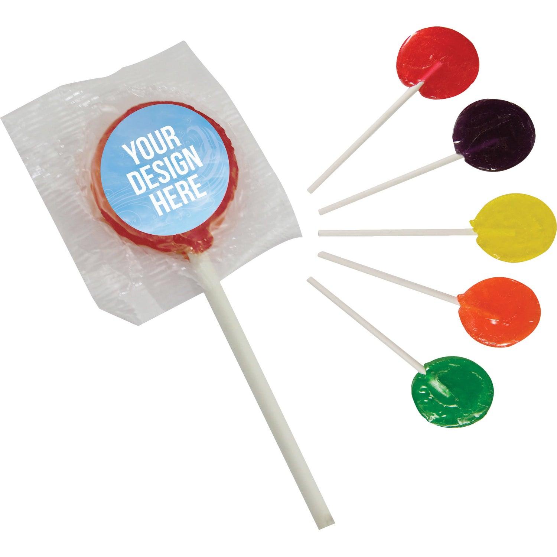 Lollipop with Round Label
