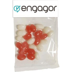 Small Header Bags with Jelly Belly Beans (1 Oz.)