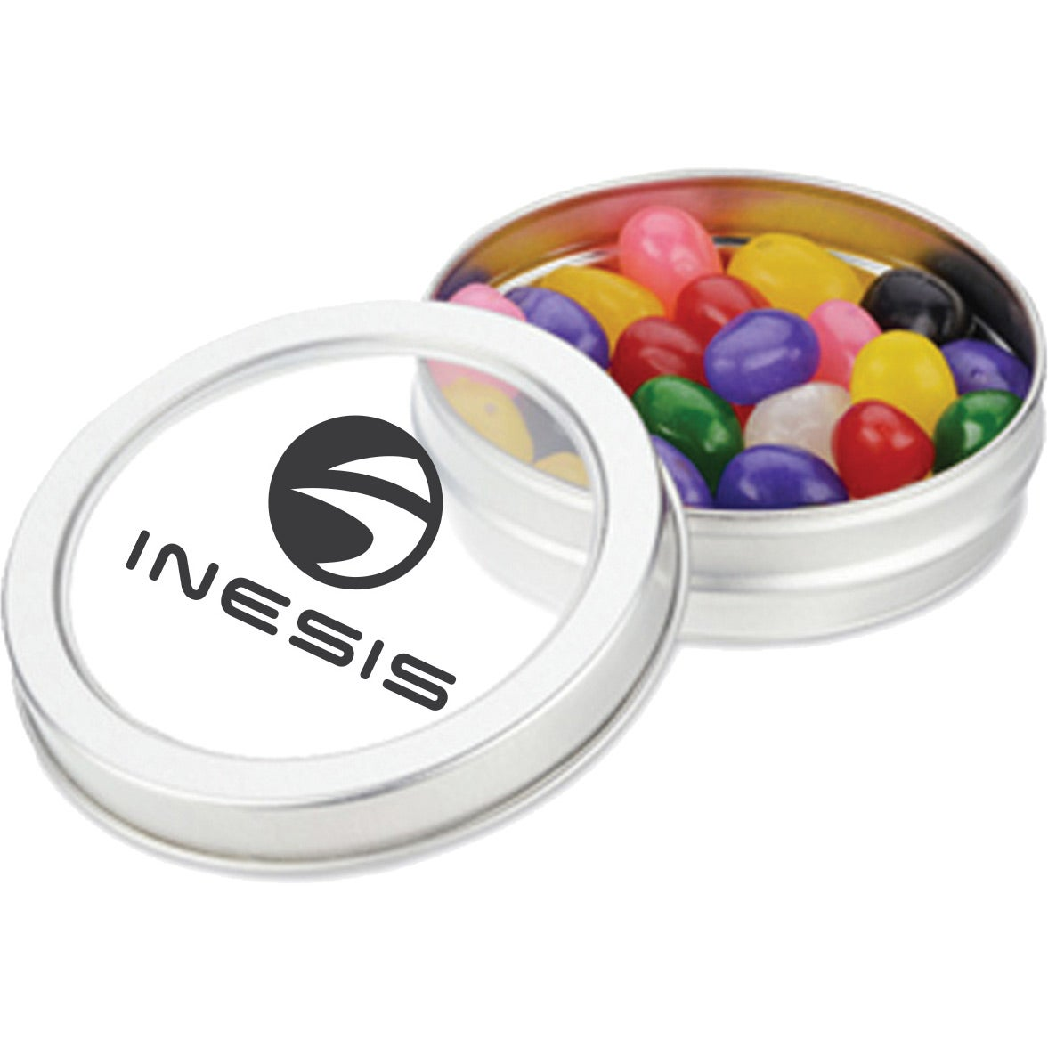 Small Top View Tin (Jelly Beans)