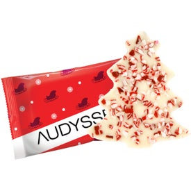 Wrapped Peppermint Bark Shapes (0.5 Oz.)