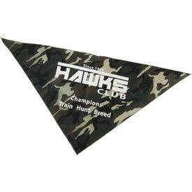 Large Camouflage Pet Bandanas