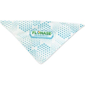 Small Sublimated Pet Bandanas