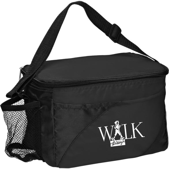 Black Access Cooler Lunch Bag