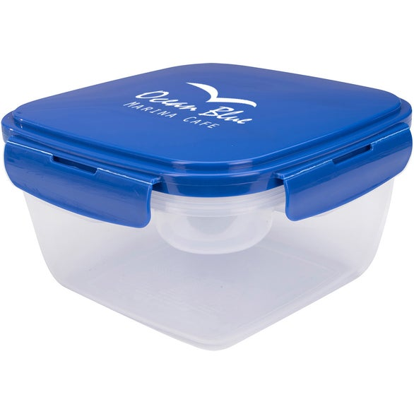 Blue / Clear All-Purpose Lunch Set