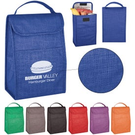 Crosshatch Lunch Bag
