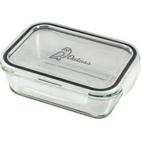 Glass Leakproof 875ml Food Storage Container (875 mL)