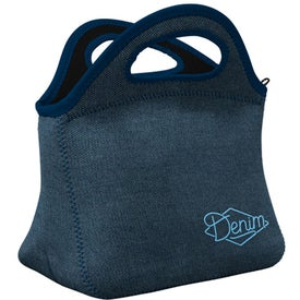 Klutch Denim Neoprene Lunch Bag