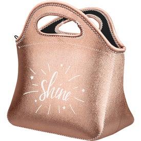 Klutch Metallic Neoprene Lunch Bag