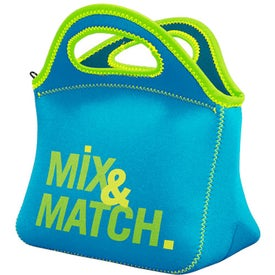 Klutch Neoprene Lunch Bag (Ink Imprint)