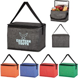 Non-Woven Crosshatched Lunch Bags