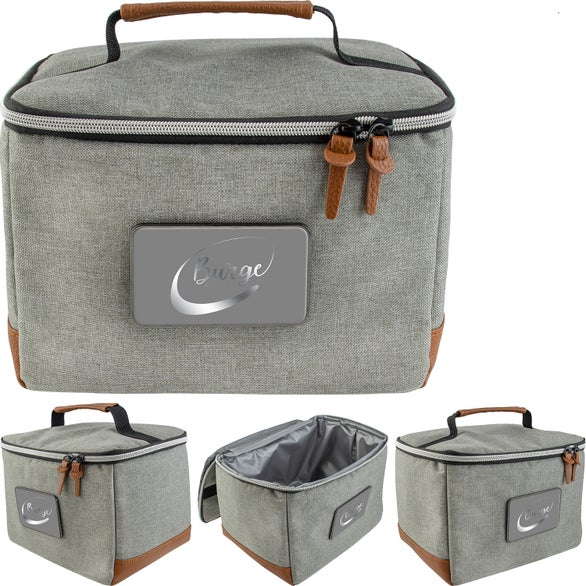 Gray Rambler Lunch Cooler Bag