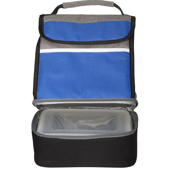 Blue / Gray / Black Replenish Store N' Carry Lunch Kit
