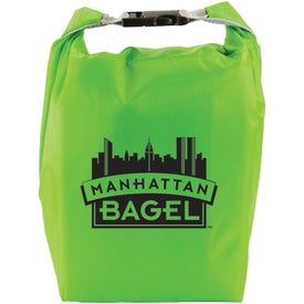 Branded Roll and Clip Cooler Lunch Bag