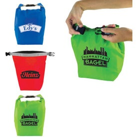 Roll and Clip Cooler Lunch Bag