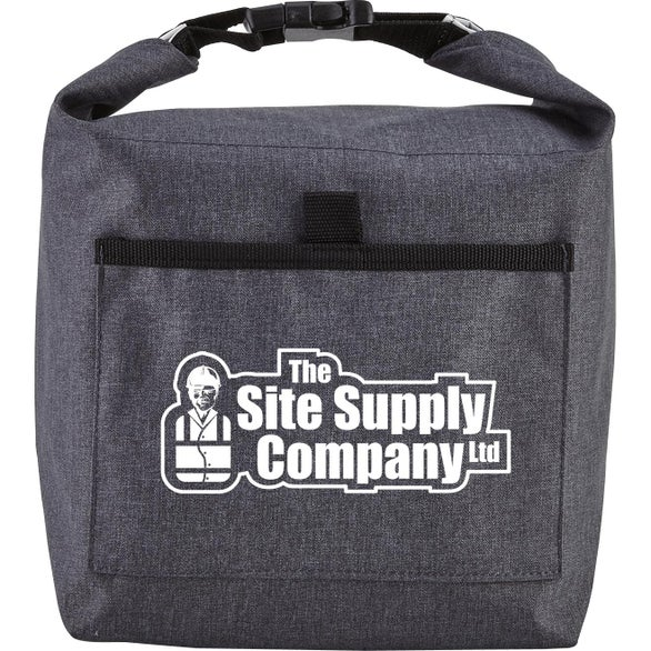 Gray / Black Roll-It Lunch Bag