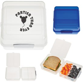 Split Level Lunch Container