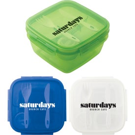 Square Salad to Go Containers