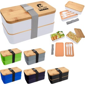 Stackable Bento Lunch Sets