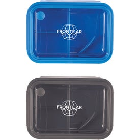 Three Compartment Food Storage Bento Boxes