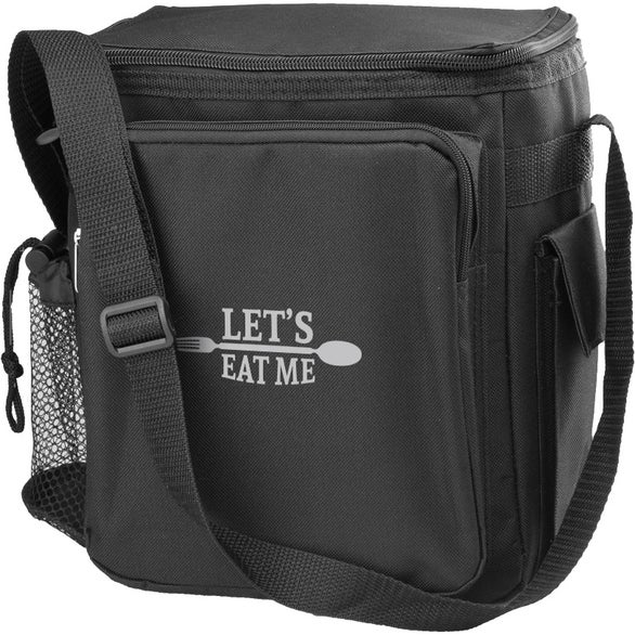 Black Traveler Insulated Lunch Bag
