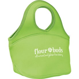 Zippered Neoprene Lunch Bag with Your Logo