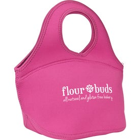 Personalized Zippered Neoprene Lunch Bag
