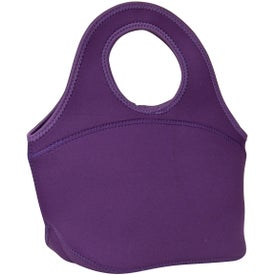 Customized Zippered Neoprene Lunch Bag