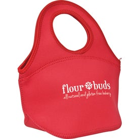 Imprinted Zippered Neoprene Lunch Bag