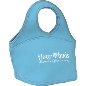 Zippered Neoprene Lunch Bag for Marketing