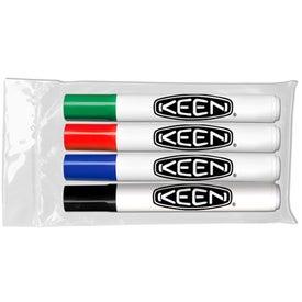 Chisel Tip Dry Erase Markers