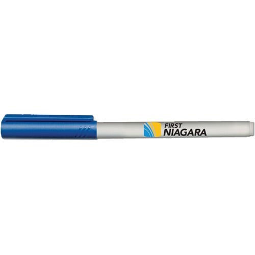 Blue / Gray Fine Point Wet Erase Markers