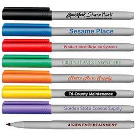 Fine Tip Permanent Ink Pocket Marker
