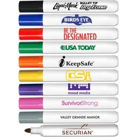 Low Odor Bullet Tip Dry Erase Markers