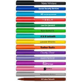 Note Writers Fine Point Felt Tip Marker