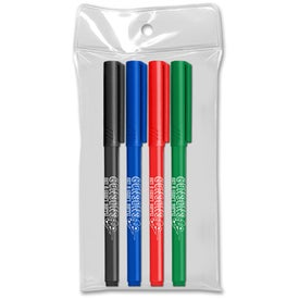 Note Writers Fine Point Felt Tip Markers (4 Pack)