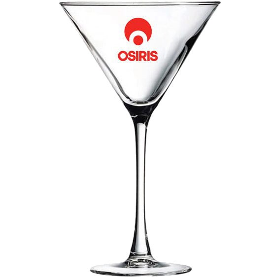 Clear Fine Martini Glass