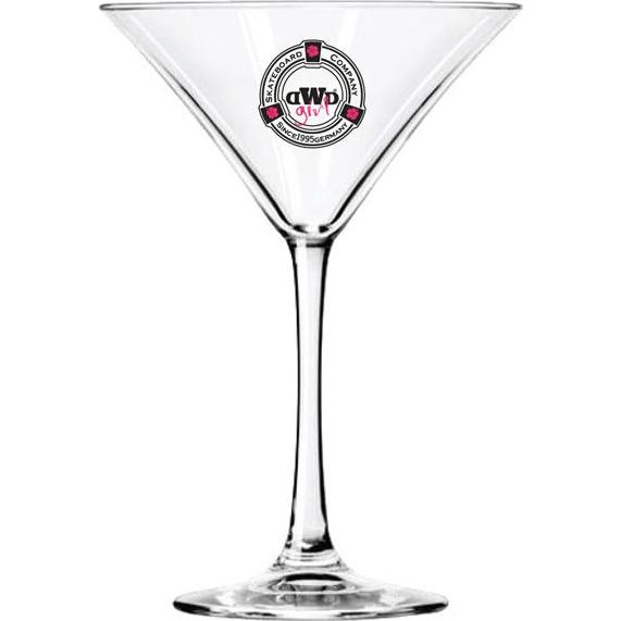 Clear Libbey Vina Martini Glass