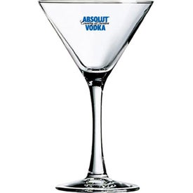 Martini Glasses (10 Oz., Pad Print)